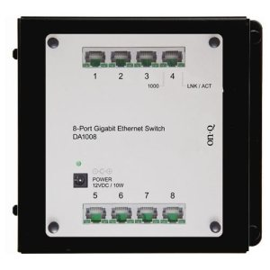 On-Q/Legrand 8-Port Gigabit Network Switch