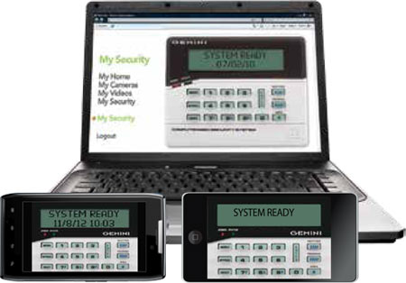 Napco Gemini Remote Virtual Keypad