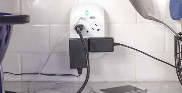 360 Electrical Revolve+ Surge Protector with USB Chargers