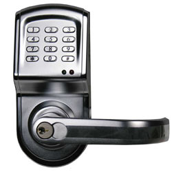 Linear DoorGard Electronic Access Control Cylindrical Lockset