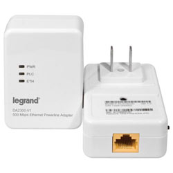 On-Q/Legrand Powerline Network Starter Kit