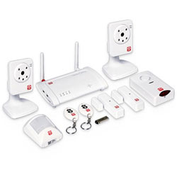 Oplink TripleShield C2S6 Wireless Home Security System
