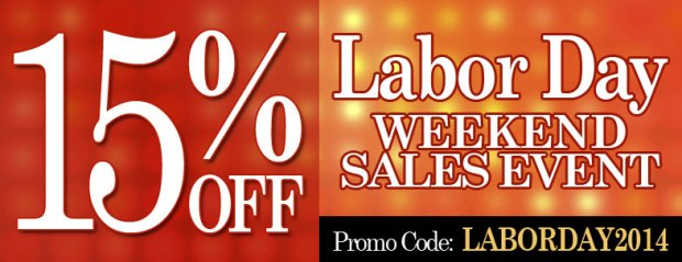 Labor Day Weekend Sales Event