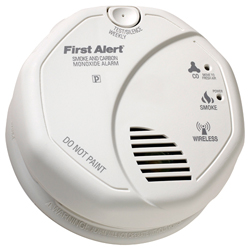 FirstAlert Z-Wave Smoke and Carbon Monoxide Detector