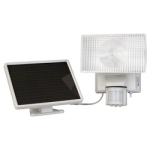 Maxsa Solar-Powered Motion-Activated 30W Halogen Floodlight