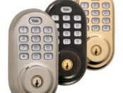 Yale Z-Wave Push Button Deadbolt