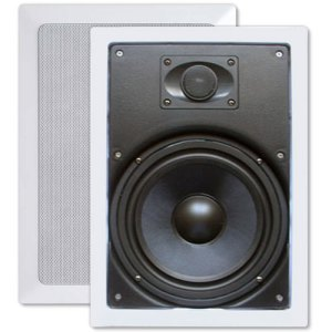 "Channel Vision 8"" Soprano ARIA In-Wall Speakers (Pair)"