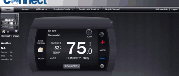 LockState Connect LS-90i Wi-Fi Programmable Thermostat
