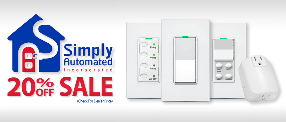 Simply Automated 20% Off Sale