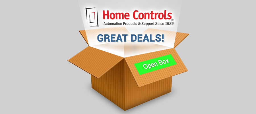 Open Box Items at Home Controls!