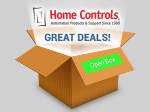 Open Box Items at Home Controls